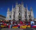 Il colore degli International Erasmus Games a Milano!