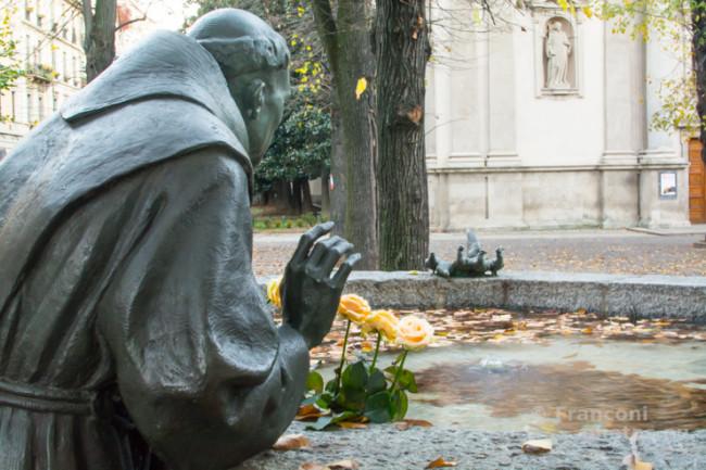 Le misteriose fontane d'acqua marcia di Milano.