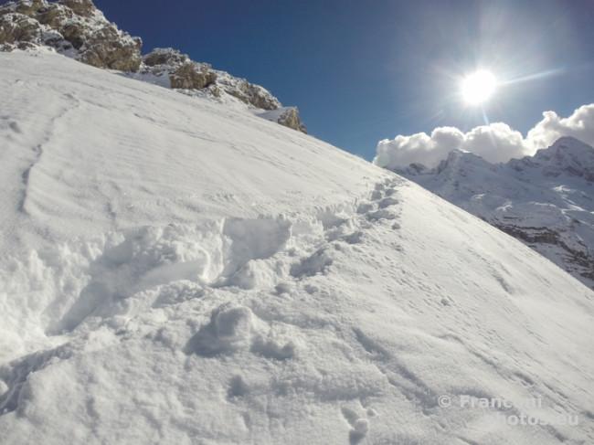 Una missione fotografica particolare nel cuore della Alpi.