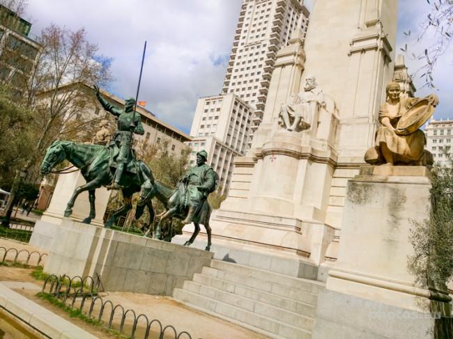 Madrid, incontrando Don Chisciotte e Cervantes.