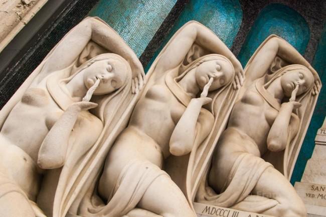 Il Cimitero Monumentale di Milano.