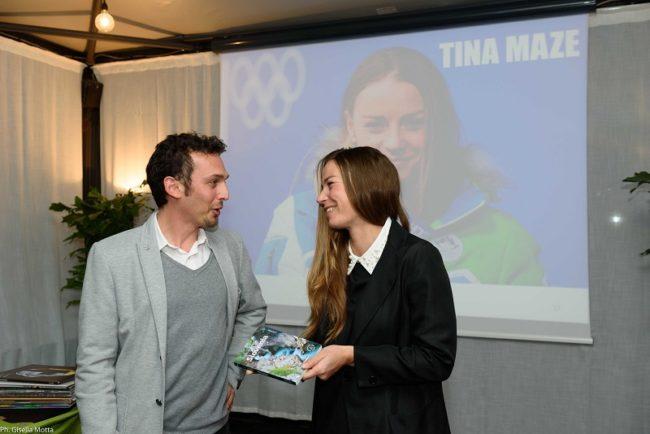 Incontro con Tina Maze