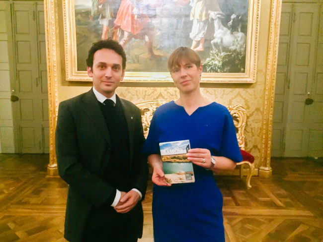 Meeting with the President of Estonia