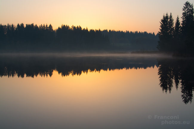 Sunrise in Estonia